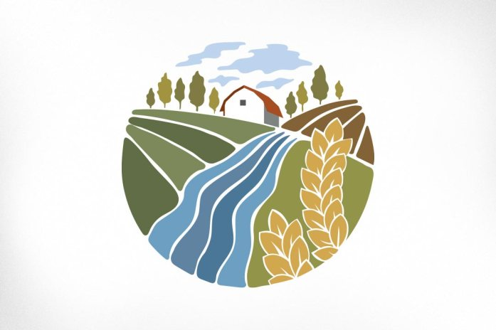 Harshell Farms: This illustration was produced for a client in the development of their branding and became the final logomark for their visual identity. Harshell Farms is a successful local family farm that has a strong vested interest in agri-education and social responsibility. Illustration reflects the farm itself with its rolling fields of crops, winding river, and trees planted in memory of a loved one.