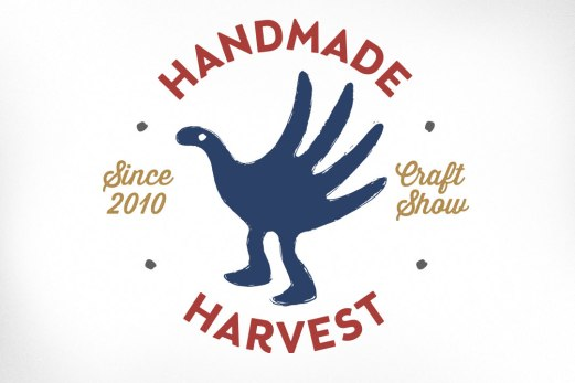 """A popular and successful craft show whose desired brand characteristics were described as hip, accessible, and fun. The resulting logo was best described by the client as """"a mythical handmade creature risen from the dust bunnies of the church basement bazaar to a whole new level of awesome. Or something like that""""."""