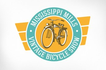 Almonte Logo Design – Mississippi Mills Vintage Bicycle Show, Badge