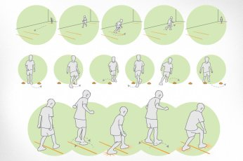 Physical Health Education Canada: Illustrations created for a fellow design boutique in Kanata. Physical Health Education Canada put together a series of online tools to assess physical literacy in our education system. Fifteen illustrations were developed to help educators illustrate to children the processes required for each activity.