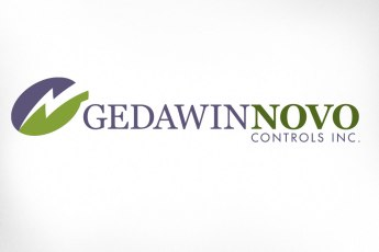 "Gedawin Novo Controls is a relatively new company offering design and manufacturing of electrical control systems. The logo depicts a bolt of electricity wherein is hidden the G and the N in the company name. The brand characteristics requested were ""corporate, controlled, knowledgeable – while imparting a subtle hint of innovation"". Website also designed at Sumack Loft: www.gedawinnovo.ca."