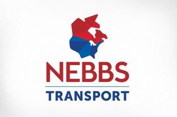 Ottawa Logo Design – Nebbs Transport Logistics Map North America