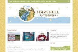 Almonte Web Design – Harshell Family Farm Site