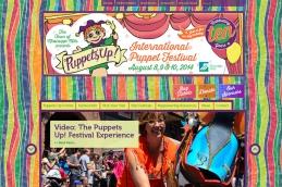 Almonte Web Design – International Puppet Festival Site