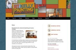 Ottawa Web Design – BT Kelly Painting & Epoxy Site