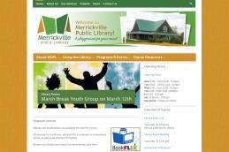 Merrickville Web Design – Public Library site