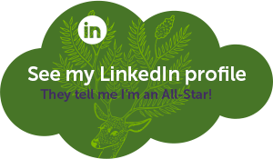 Check out my profile on LinkedIn! (they tell me I'm an All-Star!)