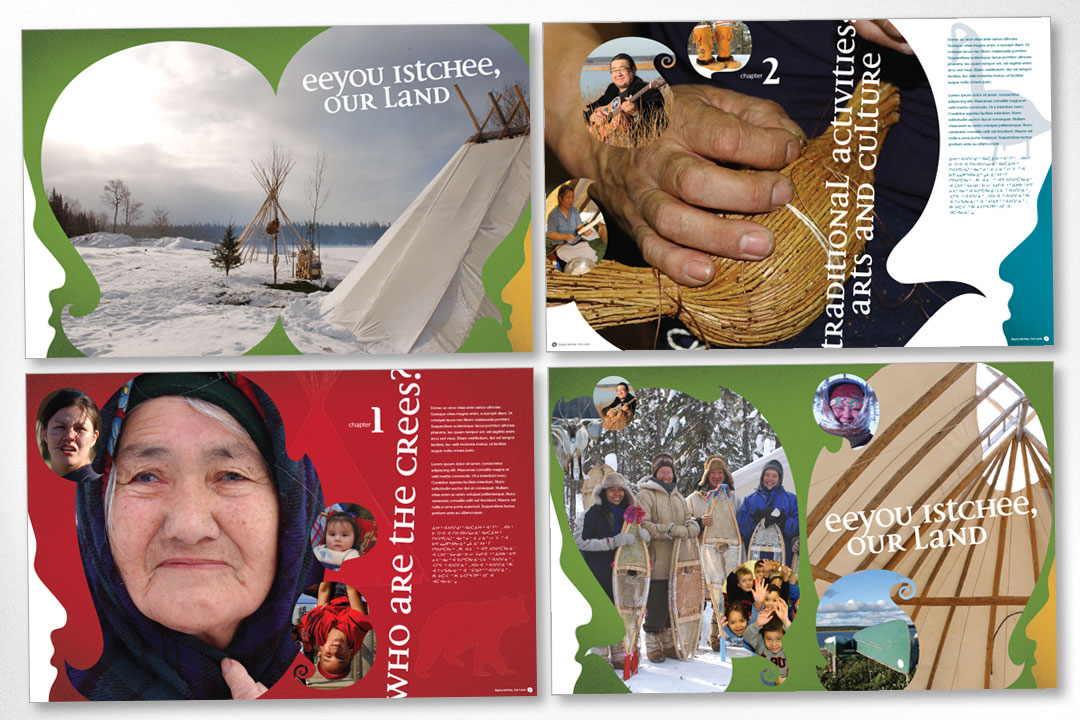 Graphic Design – Eeyou Istchee Tourism