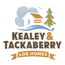 Ottawa Graphic Design - Log Home Builders Logo