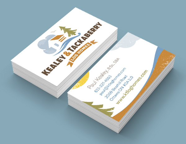 Ottawa Graphic Design - Home Builders Business Cards