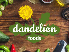 Ottawa Graphic Design - Dandelion Foods Website
