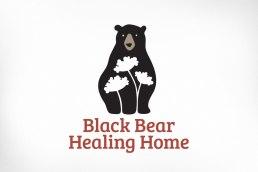 Ottawa Logo Design – Black Bear Healing Home, Queen Anne's Lace