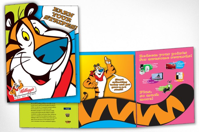 Graphic Design – Kelloggs Rewards Program Folder
