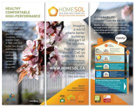 Ottawa Graphic Design Homesol Trade Show Booth