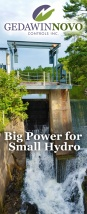 Ottawa Graphic Design Big Power for Small Hydro Display Banner
