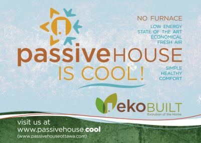 Ottawa Graphic Design Passive House Poster