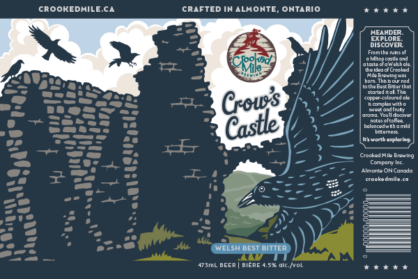 Illustration for Ontario Craft Beer Can Artwork