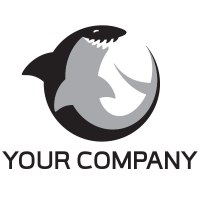 Readymade Logos for Sale - Shark Logo