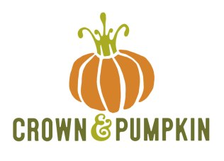 The Crown and Pumpkin Studio Tour needed a brand facelift in 2016 to simplify the design, and to blend the two elements, the crown and the pumpkin, in a more cohesive way than was the case in years past. The new visual identity is clean and uncluttered while retaining a better connection with the old graphics traditionally associated with the tour. The crown is still a crown and now appears to also be the vine on the top of the pumpkin.