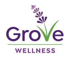 Grove Wellness is a holistic nutrition consultancy in Almonte, Ontario, incorporating various types of energy work to bring a unique approach to wellness. The owner loves lavender flowers for their beauty and the sense of peace they evoke. The design shows a lavender flower artfully blended into the letters of the business name. Website also designed at Sumack Loft: www.grovewellnessgroup.com
