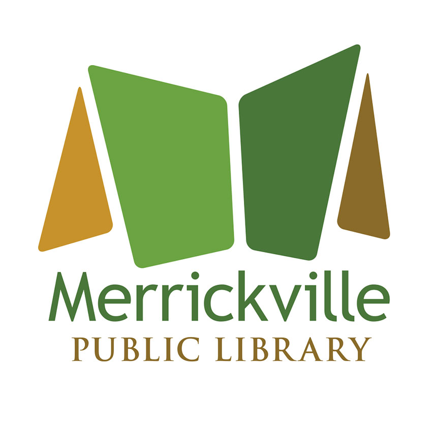 Logo for a library