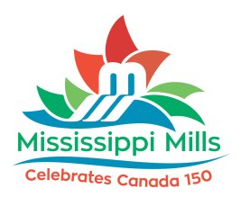 The Town of Mississippi Mills requested a logo design based on their existing identity but which would reflect Canada's 150th birthday celebrations. The client asked that there be a maple leaf reference of some kind, and that the temporary brand be fun and dynamic and promote diversity. The new logo contains the original Town logo's M, which doubles as a bridge and waterfall, with a new containing graphic of a maple leaf that brings to mind a fireworks display, as well as suggesting diversity in its use of form and colour.
