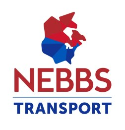 Nebbs Transport has been providing transportation solutions to manufacturers and suppliers throughout North America for almost 30 years. In 2016 the team recognized that their existing brand was badly in need of modernizing to keep the company competitive and credible in a busy marketplace. The new logo conveys a forward-thinking and modern company featuring a stylized illustration of a map with a visual effect that recalls