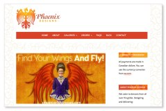 Phoenix Irish Dresses:Long established as one of the top designers in the field, this Toronto Irish Dance Dress company recently came to us to help revitalize its brand. We created a powerful new visual identity of a phoenix rising from the flames, along with an effective and attractive new website carefully structured to help clients order their dresses as seamlessly as possible (pun intended!). With an exciting contest and a series of gorgeous and strategic advertisements, Phoenix Designs immediately captured the attention of the Irish Dancing world. You can see the case study here: https://sumackloft.com/case-study-phoenix-designs. To see the full site please go to: https://phoenixirishdresses.com.