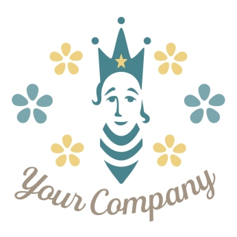 $300: Here is the perfect logo for a woman-run apiary and beekeeping supplies company.
