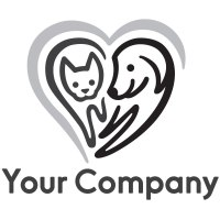 Readymade Logos for Sale - Cat & Dog