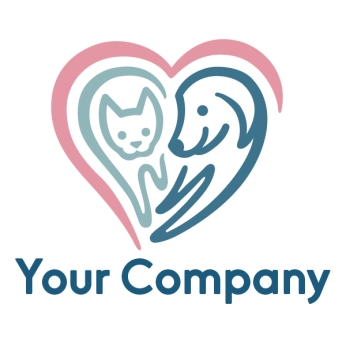 $450: This enchanting logo would be a great brand for veterinary office or a pet boarding service.
