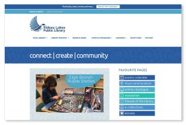 The Rideau Lakes Public Library approached us to refresh their out of date logo and website. We worked closely with the lead librarian to design a fresh and spirited update to the old loon logo, while at the same time designing and building a website with close attention paid to how information is organized for easy navigation and improved options for publishing and sharing news.