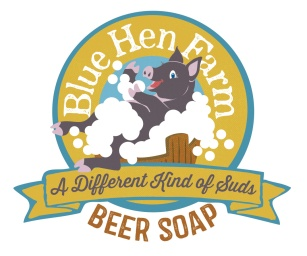 Blue Hen Farm Packaging: A local farm doubling as a bed & breakfast commissioned this illustration for one of their farm gate products.