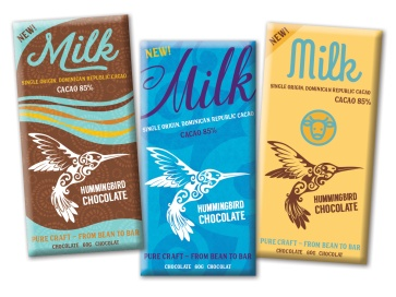 Packaging design for chocolate maker