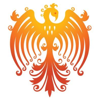 Logo for Irish dressmaker - Phoenix Designs