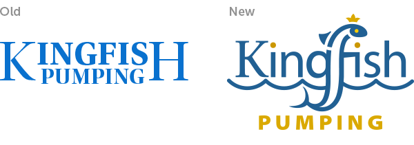 Refreshing a Dated Logo Example