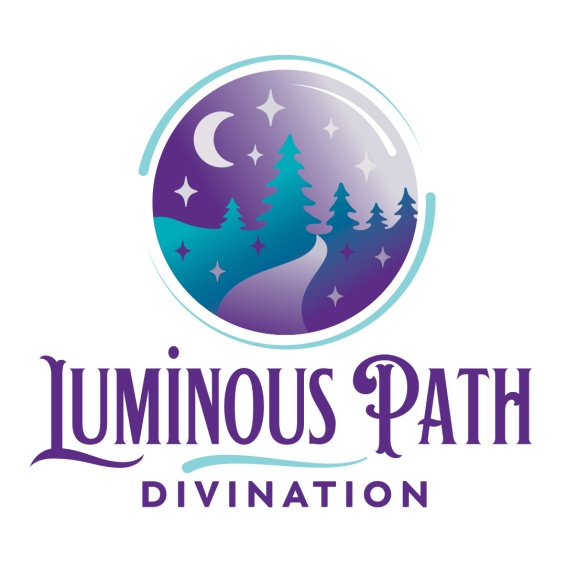 A passionate and intuitive tarot reader and reiki practitioner was looking for a logo and website to offer readings to a larger audience. The logo for Luminous Path Divination reflects the desired brand characteristics: a wandering path illuminated by a mystical source of light; beautiful, symbolic, and joyful. Website also designed at Sumack Loft: https://luminouspathdivination.com