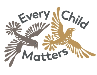 Orange Shirt Day: Inspired by the beautiful and evocative work of Kenojuak Ashevak, a volunteer illustration for Orange Shirt Day, a day on which we commemorate the thousands of indigenous children who were taken from their homes to residential schools. Every child matters indeed.