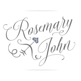 Rosemary and John were married summer 2019 and approached Sumack Loft early in the year to design a logo of their names for the wedding. They provided a rough hand drawn doodle of a bow and arrow as inspiration with a heart incorporated into the design. We selected a beautiful script typeface for their names, and a charming custom illustration was developed for the heart, bow, and arrow.