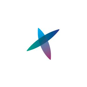 Gradient Overlap Logo