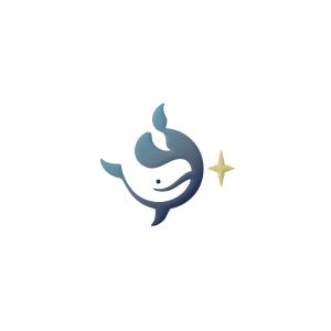 Whale & Star Logo