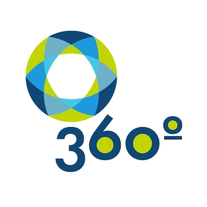360 degree logo